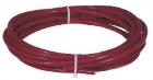 Červené ocelové lano