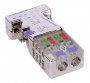 PROFIBUS konektor kovový 0°