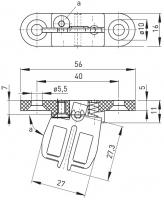 Klíč AZ 15/16-B2 pro bezpečnostní spínače