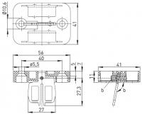 Klíč AZ 15/16-B3 s magnetickou západkou