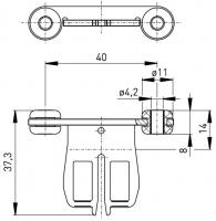 Klíč AZ 15/16-B1 s pryží