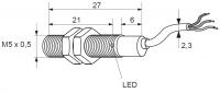 Indukční snímač - kovový