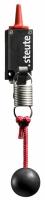 Bezdrátový lankový spínač RF 95 WH/90° EN868