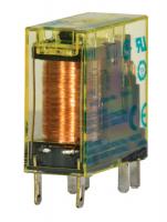 Relé s nuceně vedenými kontakty RF2S do plošných spojů