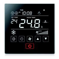 Dotykový ovládací panel LCF Touch s MODBUSem