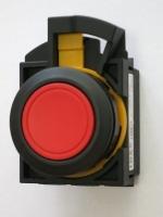 CW vratné tlačítko s černým kroužkem
