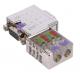 PROFIBUS konektor kovový 90° bez indikačních LED